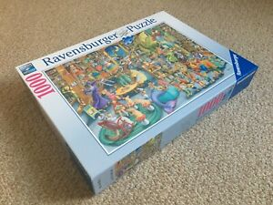 Brand New Ravensburger 1000 Piece Jigsaw Puzzle - MIDNIGHT AT THE LIBRARY