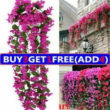 Artificial Fake Hanging Flower Vine Plant Garden Wedding Home Outdoor Decoration
