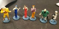 CLUE Board Game 6 People Figures 2005 Replacement Pieces Parts