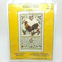 Cross Stitch Rooster #1417 Diane Arthurs Graph Pattern Instructions Only