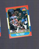 1986-87 Fleer Paul Pressey Milwaukee Bucks #88 Rookie Card University of Tulsa