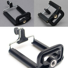 iPhone 6 Plus +5.5' Cell Phone Camera Stand Clip Tripod Holder Mount Adapter