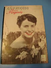 Cariccio Magazin von 1953 Film,Show,Erotik,Bühne,Stars-Variete- Film-Pin Up-Akt