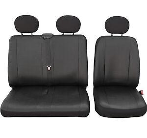 Sitzbezüge Schonbezüge SET AHH Peugeot Expert Stoff schwarz