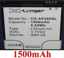 Batterie 1500mAh Pour Asus A66, Asus PadFone type 0B110-00150000 SBP-28
