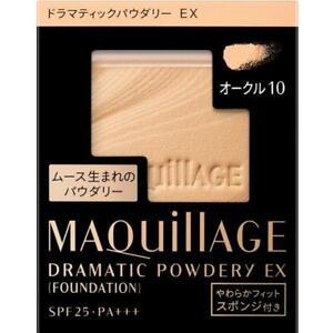 Shiseido Japan MAQUiLLAGE Dramatic Powder UV Foundation EX SPF25PA++ Refill Only