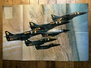 1977 Poster of the Blue Angels US Navy Planes