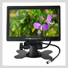 "7"" TFT Color LCD Display Monitor 2 Video Input Car Rear View Headrest VCR DVD TR"