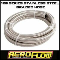 Speedlow 16 AN AN-16 100 Series Black Nomax Cover Braided Start-Lite Hose 120-16