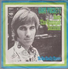 "7"" Gary Puckett Keep The Customer Satisfied / No One Really Knows 70`s CBS"