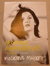 Marina Abramovich-i capelli più puliti svedese arte mostra poster