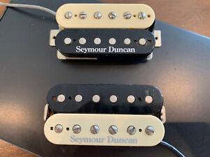 Pearly Gates Trembucker and 59 Zebra Set Seymour Duncan Pickups