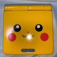 GBA SP Pokemon PIKACHU LIMITED EDITION console Nintendo GAMEBOY ADVANCE SP