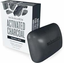 Natural Bar Soap, Schmidts Naturals, 5 oz Activated Charcoal