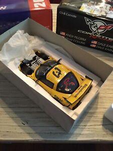 2001 Action Dale Earnhardt Sr Jr Pilgrim Collins #3 1/18 Corvette Raced Version