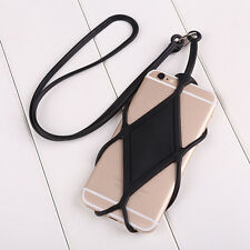 Silicone Lanyard Case Cover Holder Strap For Cell Phone iPhone Convenient