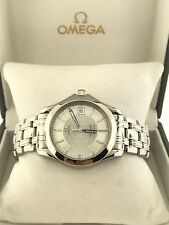 ~ Omega Seamaster Automatic Chronometer Watch 2501.31 Silver Dial & Omega Box ~