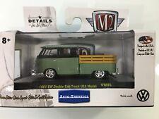 M2 MACHINE AUTO-THENTICS LIMITED EDITION 1961 VW DOUBLE CAB TRUCK USA MODEL VW05