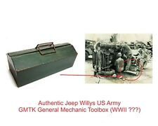 Authentic Jeep Willys  GMTK General Mechanic Toolbox (WWII ???)
