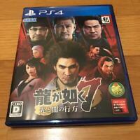 PS4 Yakuza Ryu ga Gotoku 7 PlayStation IMPORT 4 JAPAN USED w/Tracking#