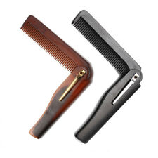 Barber Folding Pocket Moustache & Beard Comb Hand Made - CHEAP UK SELLER!