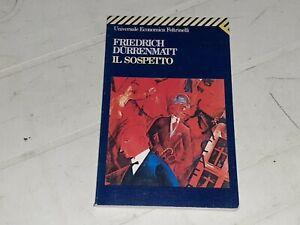 Friedrich Durrenmatt: Il sospetto (Universale Economica Feltrinelli)