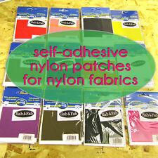 Self - Adhesive Nylon Repair Patch Fabric Self-adhesive Fix WATERPROOF Mending
