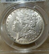 1896 O MORGAN DOLLAR GRADED AU 55 BY PCGS!!!!