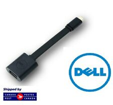 New Dell Adapter USB-C to USB-A 3.0 Black & White YYG9W