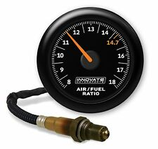 Innovate 3855 MTX-AL Analog Air-Fuel Ratio Gauge Kit Black Dial Display 8-18 AFR
