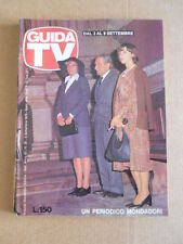GUIDA TV n°35 1978  Copertina Didi Perego Paolo Stoppa Marilu Prati  [G435]