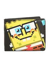 Nickelodeon SpongeBob SquarePants Pixel Wallet Bi-fold - NWT