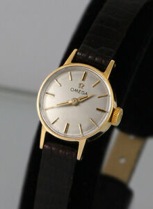 9k 9ct Solid Gold OMEGA Watch, Ladies, Excellent Cond, Serviced, Warranty (1367)