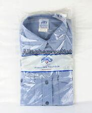 Womens X-Large XL CHAMBRAY Blue Long Sleeve Button Down Boyfriend-Look SHIRT NIB