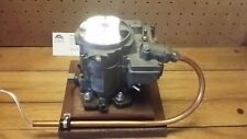 Carburetor Lamp, 2BBL Chevy Quadrajet with LED lights - For the Man Cave, Office