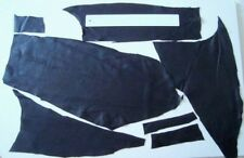 BLACK LEATHER REMNANTS-  #3148 -  CRAFTS, LARP, REPAIRS, ELBOW PATCHES