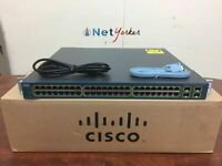 Cisco WS-C3560G-48PS-S • 48-Port PoE Gigabit Switch 1YR WARRANTY ■Fast Shipping■