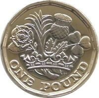 2017 Royal Mint Nations of the Crown BU £1 One Pound Coin Uncirculated