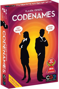 Codenames Word Game Top Selling Party Game by Vlaada Chvatil Card Board New