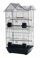NEW Large Tall Canary Parakeet Cockatiel LoveBird Finch Bird Cage BLK 1705H-258
