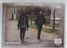 2016 Topps The Walking Dead Season 5 #80 On Patrol Non-Sports Card 2a1