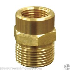 "Pressure Washer M22-14mm x 1/4"" Female Plug - Karcher Style  Disconnect Adapter"