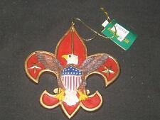 Boy Scout Emblem Christmas Ornament  c10