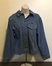 Vintage Wrangler Range Jacket Denim Blue Jean Men 42 Chest Vintage Button Down