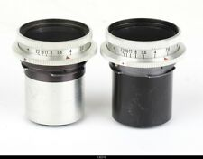 Lens 2x Zeiss Tessar 2.8/50mm Zeiss Tessar 3,5/75mm  For Bellows for Exakta