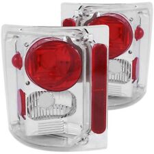ANZO for 1973-1987 Chevrolet C 10 Taillights Chrome - anz211014