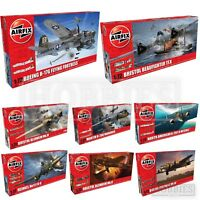 Airfix 1:72 WW2 Bomber Model Kits Flying Fortress Heinkel Bristol Avro Lancaster