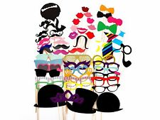 58 Party Props Photo Booth Moustache Birthday Engagement Wedding Funny B58010