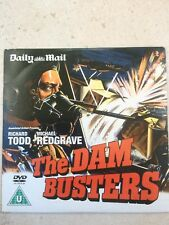 THE DAM BUSTERS DVD promo DAILY MAIL starring Richard Todd & Michael Redgrave.