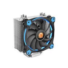 ThermalTake riing silencieux 12 bleu cpu cooler avec bleu 12cm riing fan, upto 150w